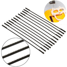 Tools - Saw Blade - 12pcs 5'' 127mm Pinned Scroll Saw Blades Mayitr TPI Saw Blade Woodworking Power Tools Accessories For Wood Plywood Plastic