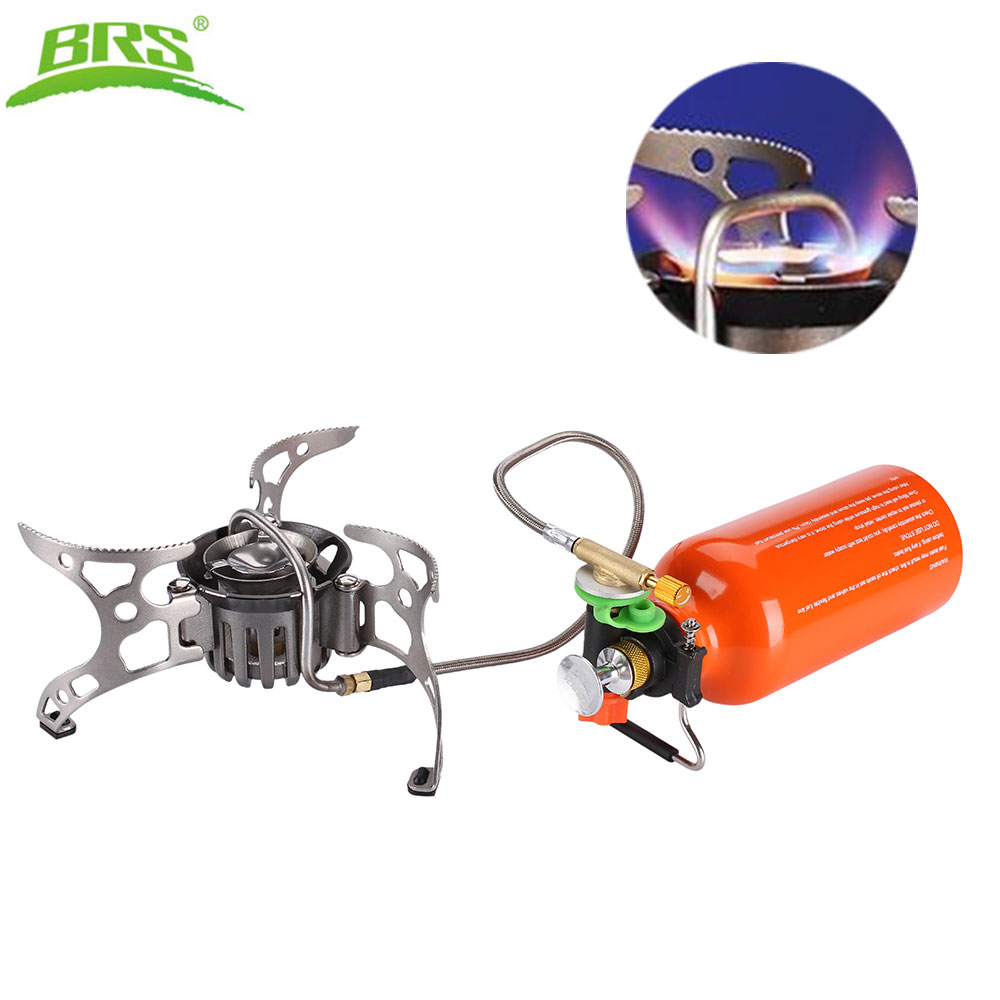 BRS Outdoor Kerosene Stove Burners and Portable Oil&Gas Multi Fuel Stoves Camping Cooking Stove BRS-8 widesea portable camp shove oil gas multi fuel stove camping burners outdoor stove picnic gas stove cooking stove burner
