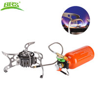 BRS Outdoor Kerosene Stove Burners and Portable Oil&Gas Multi Fuel Stoves Camping Cooking Stove BRS 8
