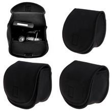 Upscale Water Drop Wheel Protection Sleeve Fishing Bag Spinning Baitcasting Reel Protective Case Cover Pouch H