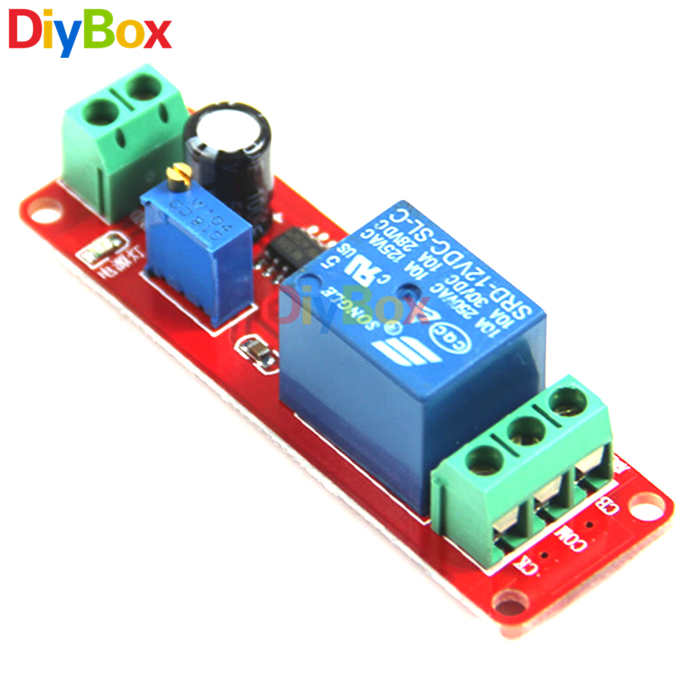 Dc 12v Conduction Time Delay Relay Shield Ne555 Timer Led Driver With 555 4