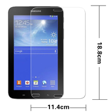 Premiem Tempered Glass movie for Samsung Galaxy Tab four Lite T116 7″ pill HD protecting movies Anti-shatter Display screen Protector movie
