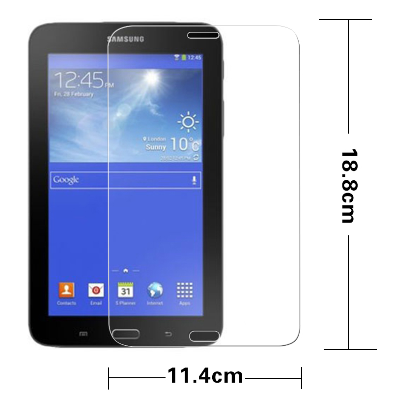 "Premiem Tempered Glass Folie für Samsung Galaxy Tab 4 Lite T116 7 ""Tablet HD Schutzfolien Splitterschutzfolie"