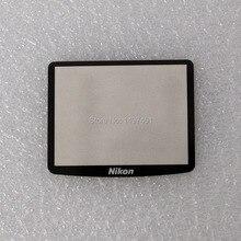 Dış/Dış LCD Ekran Koruyucu Cam Onarım parçaları Için Nikon D90 SLR