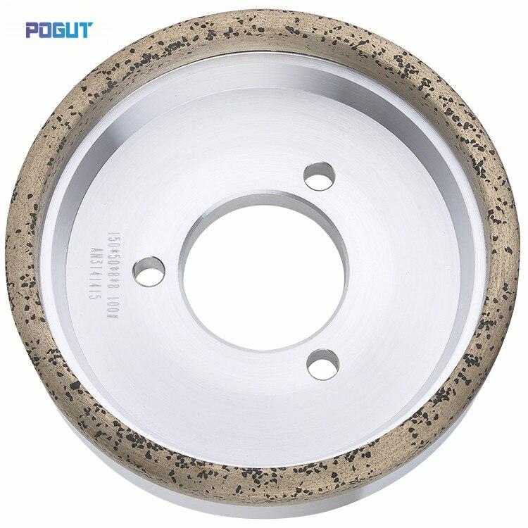 HIGH QUALITY Diamond Wheel 150 10 10 Diamond wheel for glass straight edge machine and double