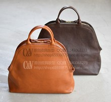 [B-5028] DIY handmade leather tanned tote bag handbag pattern.