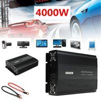 Мощность инвертор P ЕАК 8000 Вт 4000 Вт DC 12 В к AC 220 В/110 В автомобильный адаптер Процессор Зарядное устройство меандр изменение чистый синус с охлаждающим вентилятором