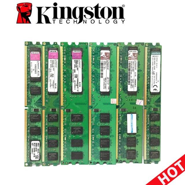 Kingston PC Memoria RAM Memoria para computadora de escritorio 1 GB 1G 2 GB 2G PC2 DDR2 5300 de 6400 a 667 Mhz 800 MHz 667 800 MHz 240pin RAM