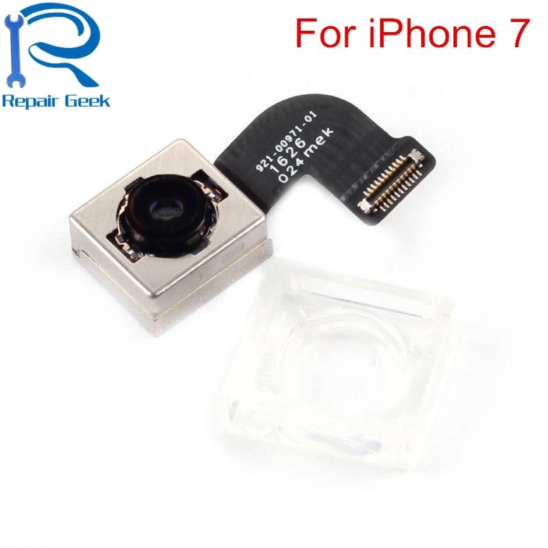 Top qualité nouvelle caméra arrière pour iPhone 7 7G 4.7 pouces grand Module de caméra câble flexible ruban pièces de réparation de remplacement