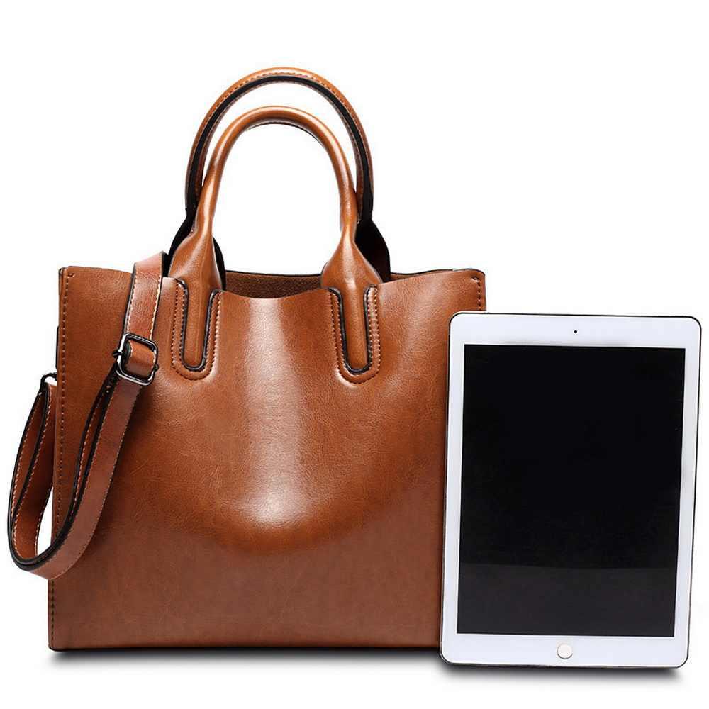 DIINOVIVO женские кожаные сумки Известные бренды Сумка повседневная женская сумка багажник сумка женская сумка на плечо большая сумка-мессенджер WHDV0012
