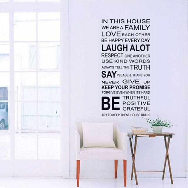 Hochzeit Dekoration Für Neue Haus Stilvolle Englisch Sprüche Muster