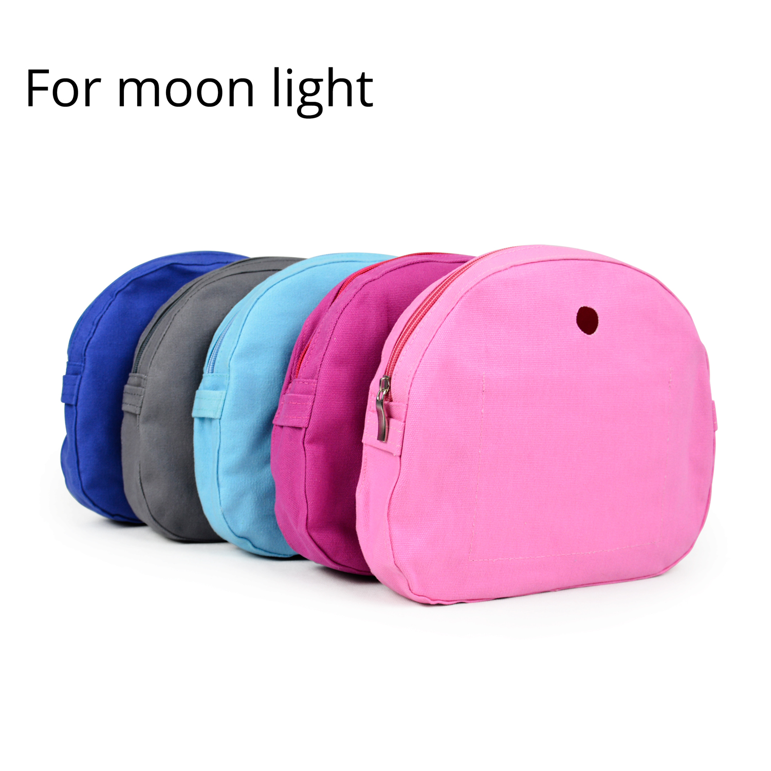 New Pure Color Canvas Fabric Inner Pocket Lining For Omoon Light Obag Insert Organizer For O Moon Baby O Bag