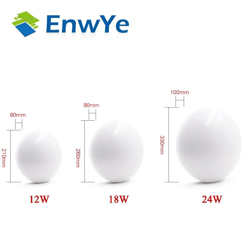 EnwYe High brightness LED Ceiling lights AC 220V 230V 240V LED Chip 12W 18W 24W 36W EnwYe High brightness LED Ceiling lights AC 220V 230V 240V LED Chip 12W 18W 24W 36W 45W LED Ceiling Lamp