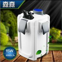 SUNSUN Fish tank filter ultra quiet external aquarium filter bucket 220V/HW702HW703 uv sterilizer lamp purify water Algae Remove
