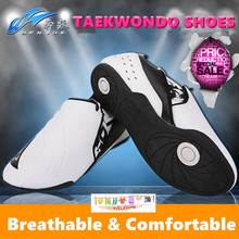 Breathable Taekwondo Shoes Martial Arts Sneaker White color for coach student comfortable Training competition TKD karate