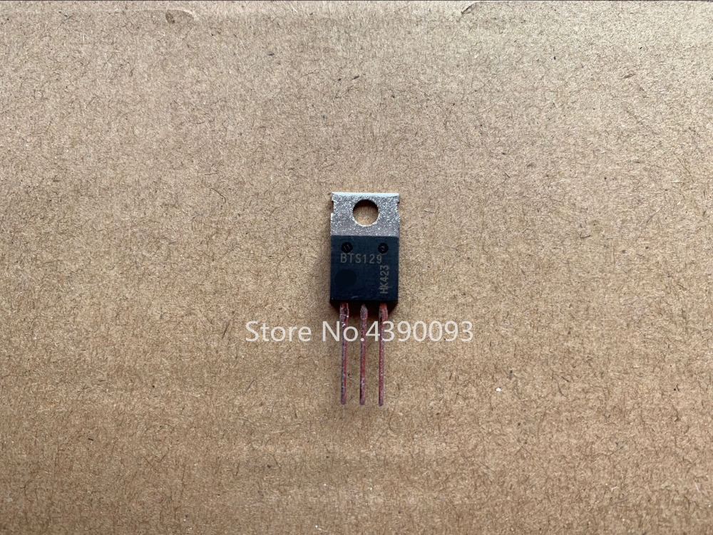 100pcs/lot BTS129 TO220 l7805cv to220
