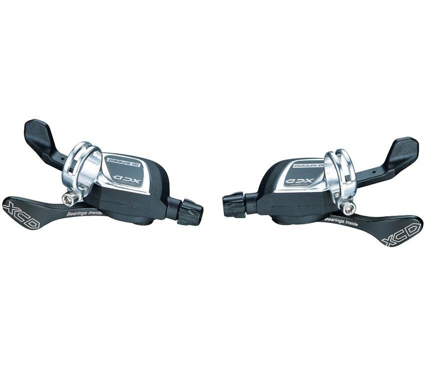 送料無料オリジナル mtb 新 microSHIFT XCD SL M850 3 親指タップシフター 3 × 10 スピードバイク ブラック M610 XT SLX M670  グループ上の スポーツ & エンターテイメント からの 自転車変速装置 の中 1