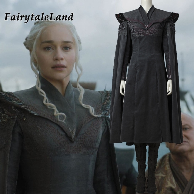 85f7421632cc7 Game of Thrones 7 ª Temporada Daenerys Targaryen Daenerys Targaryen cosplay  adultos trajes de Halloween Fantasia