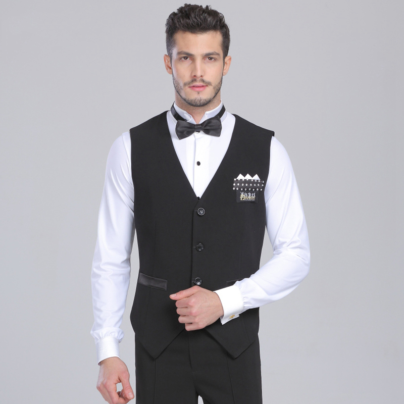 231854621 2019 New Arrival Professional Mens Ballroom Shirts Black/Stripe Vest Ballroom  Dance Tops Jazz/Waltz/Latin Dance Top JDQ7003 ~ Free Delivery May 2019