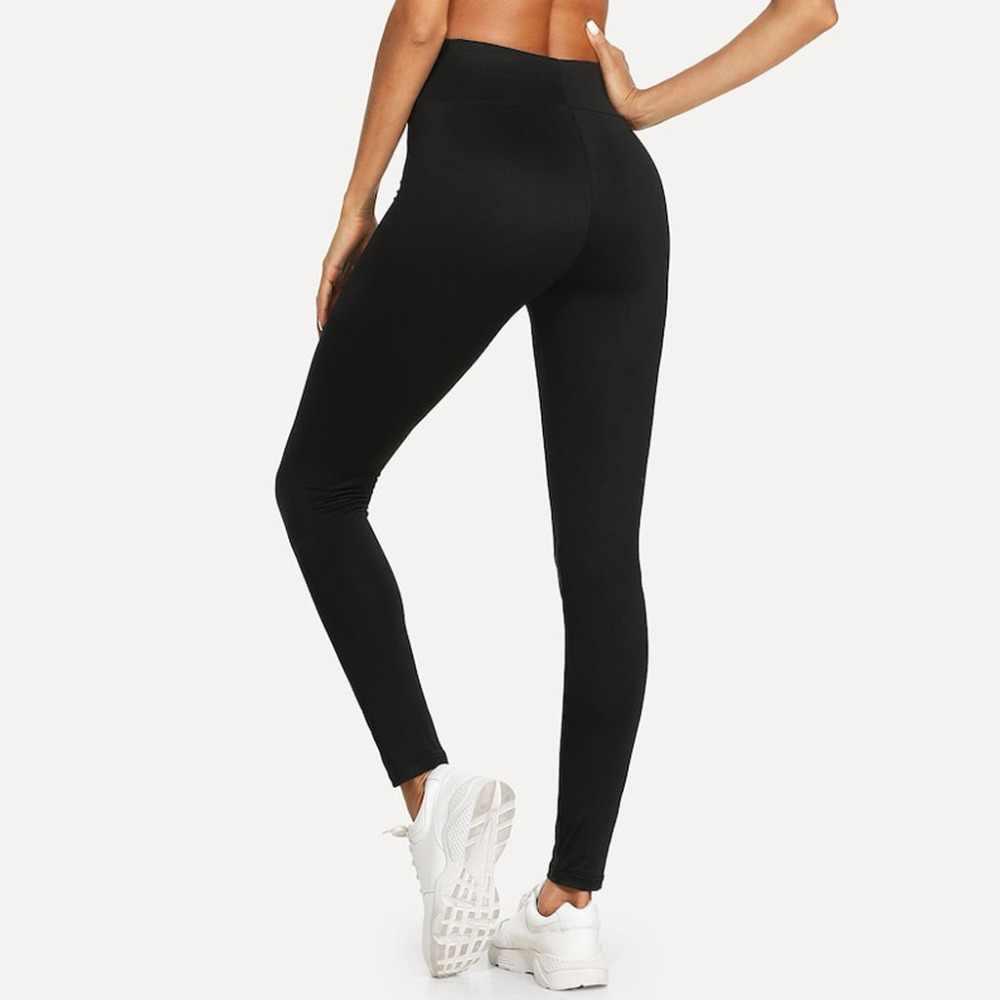 女性のパンツファッションスリムフィットネス長ズボンカジュアルソリッド弾性ウエストジムレギンスジョガースウェットパンツ女性のズボン Modis C4