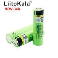 Image 4 - 2019 LiitoKala new original NCR18650B 34B 3.7V 18650 3400mAh rechargeable lithium battery  flashlight battery