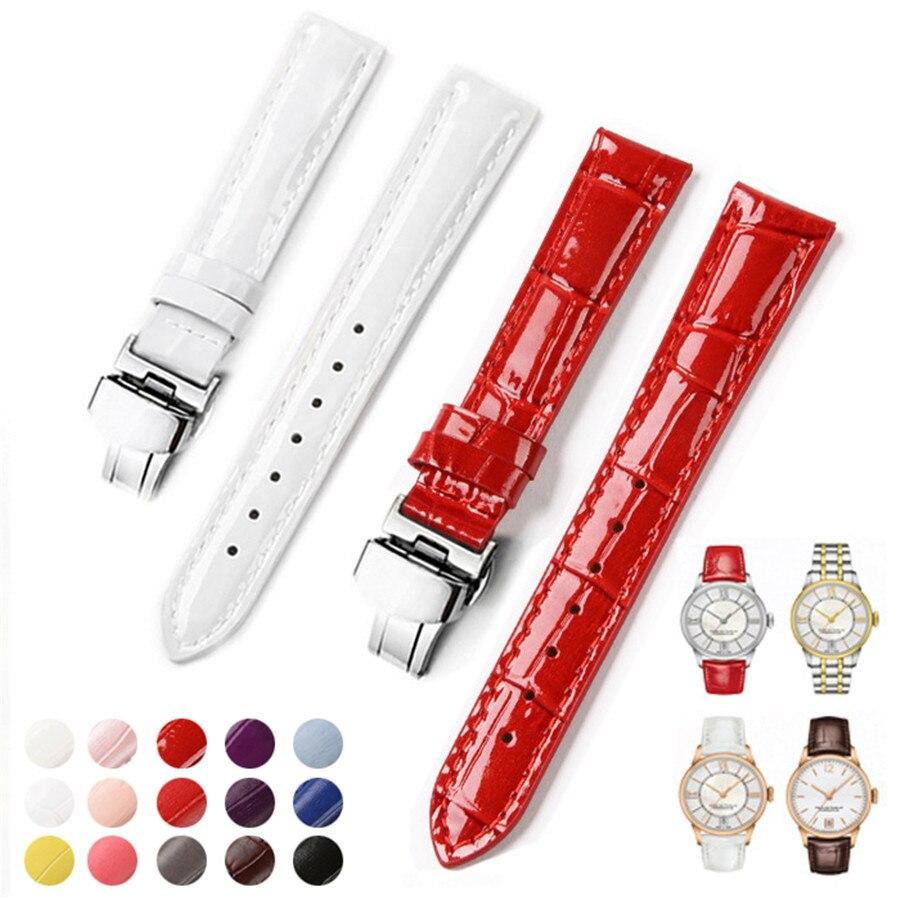 Bracelets de montre 14mm 16mm 18mm 20mm pour montre femme Bracelet en cuir de veau pour Tissot Lady T099 T050 T085 T055 T02 Bracelet de Bracelet de montreBracelets de montre 14mm 16mm 18mm 20mm pour montre femme Bracelet en cuir de veau pour Tissot Lady T099 T050 T085 T055 T02 Bracelet de Bracelet de montre