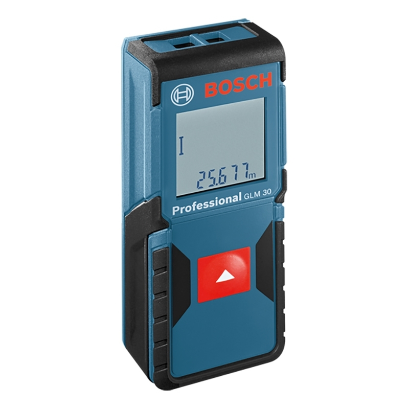 Distance meter laser Bosch GLM 30 (Distance measurement 30 M., автоотключение, protection class IP54) цена