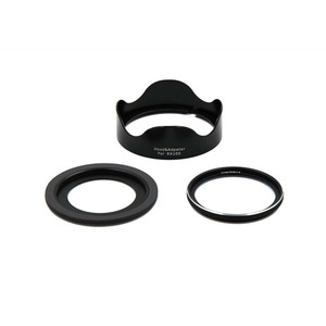 Image 2 - JINSERTA 46mm UV Filter + Lens Hood + Adapter Ring for Sony RX100 M6 Camera Sony RX100 Series Camera Accessories