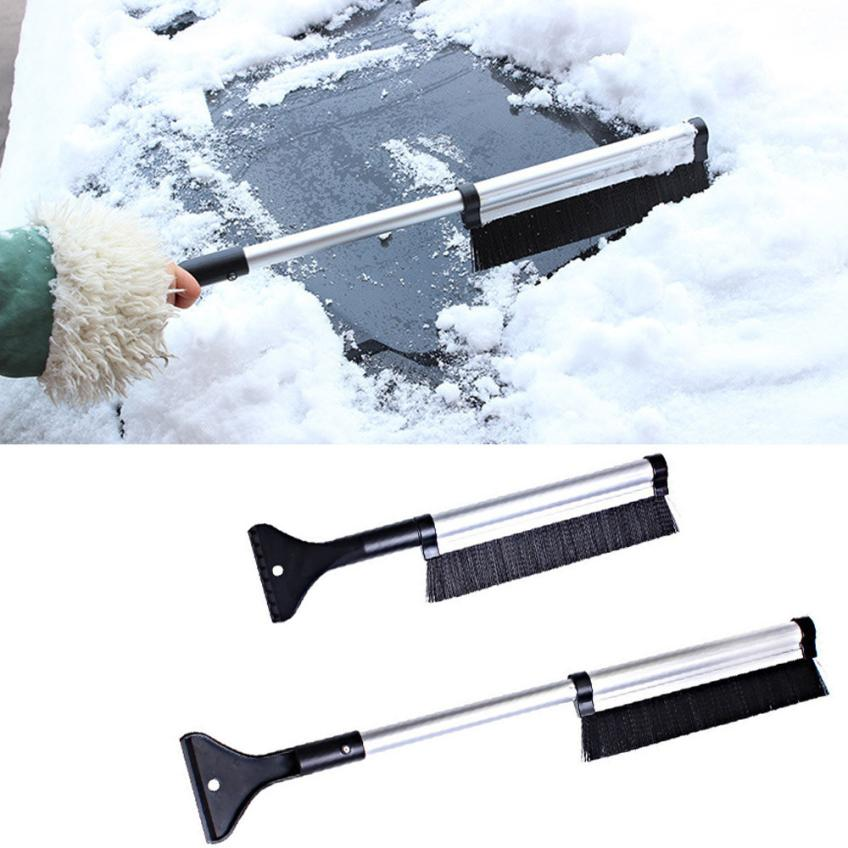 3 in 1 Snow Scraper with Brush Multifunction Detachable Car Snow Removal Tool for Windshield Glass for Ice//Frost//Snow ANBET Ice Scraper for Car