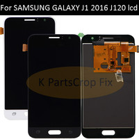 For SAMSUNG GALAXY J120 LCD J120M J120F J1 2016 Display Touch Screen Digitizer Assembly Replacement For 4.5 SAMSUNG J120 LCD