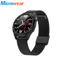 L7 Smart Watch men ip68 Waterproof Heart Rate Monitoring Blood Pressure ECG MTK2502 sports smartwatch For Android Metal Strap(China)