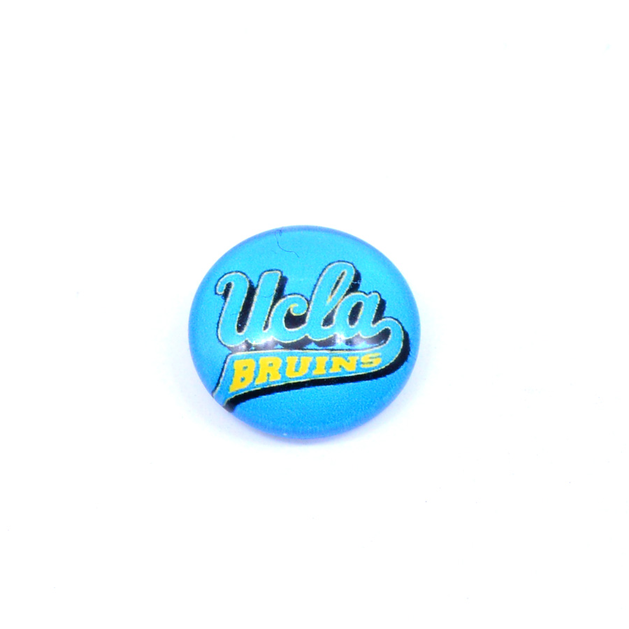 University Football Jewelry <font><b>UCLA</b></font> Bruins Floating Charms for Glass Floating Charms Locket Fashion 2018 image