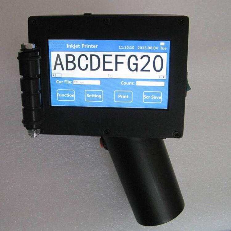 Multifunctional smart inkjet printer portable handheld type/online type for bar code, label, date, time printing