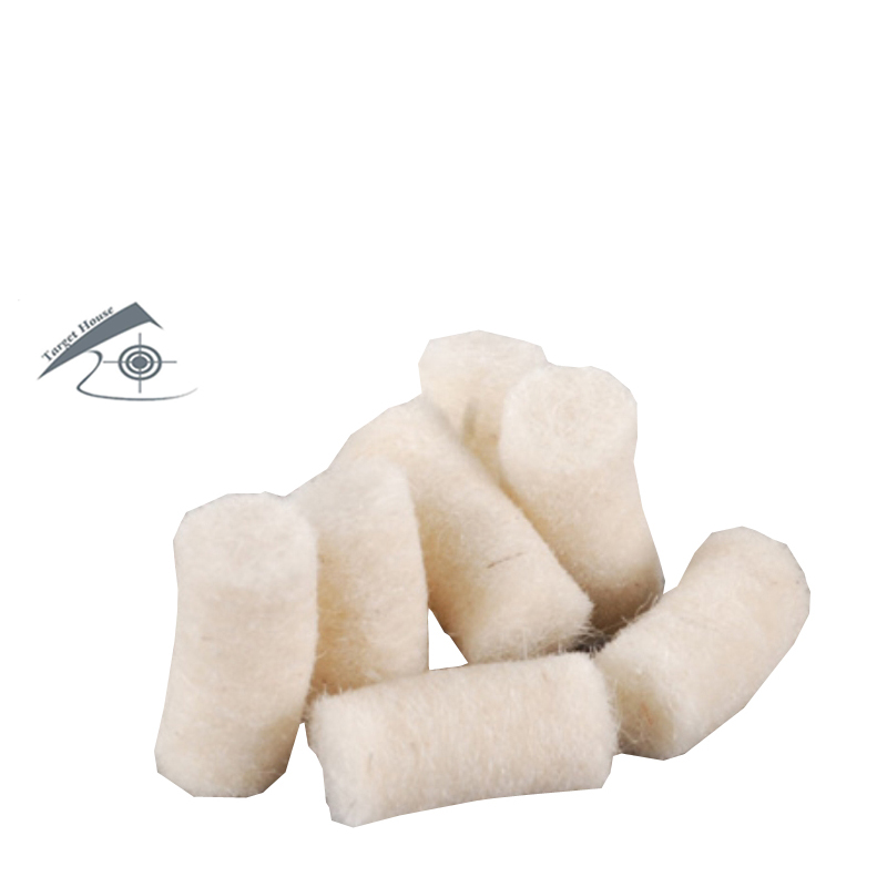 4.50mm, 5.50mm And 6.35mm CLEANING COTTON PELLETS (100 PCS)/ FELT CLEANING WADS/ AIRGUN CLEANING KIT