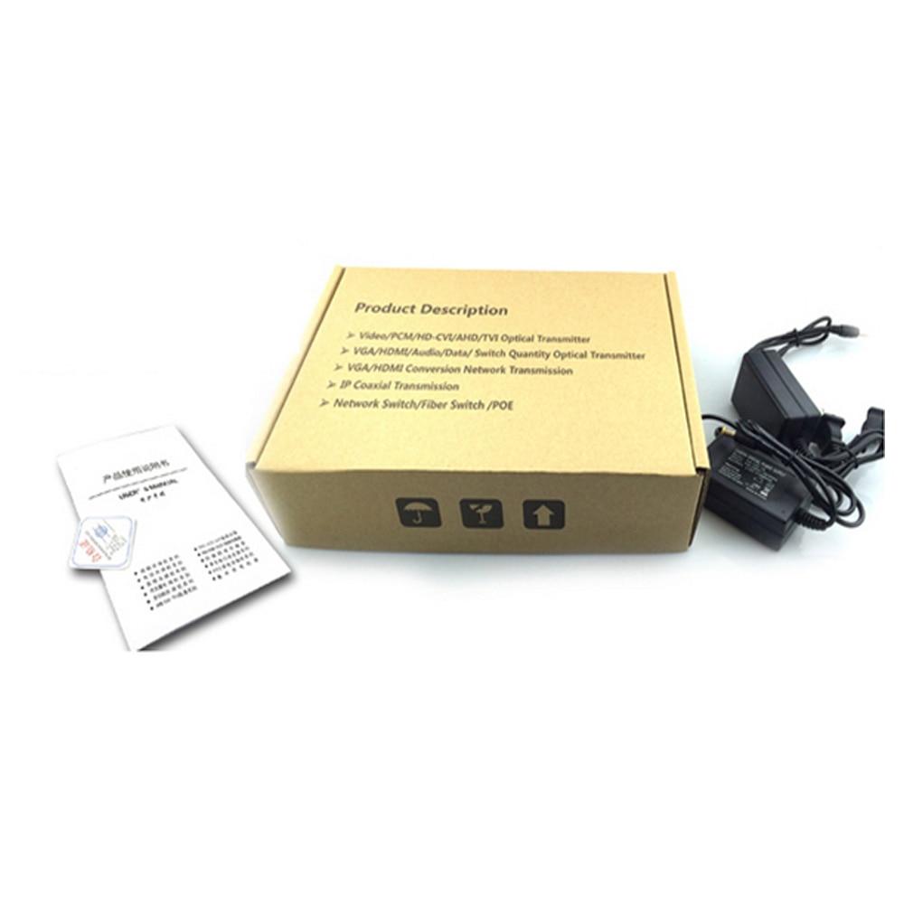 Yüksek Kaliteli Stereo 3.5mm ile 1080 VGA Genişletici Optik fiber - İletişim Ekipmanları - Fotoğraf 4
