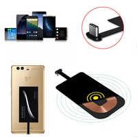 Typ C USB 3.1 Qi Wireless Charger Power-Lade Empfänger Für Handy DIY Universal Empfänger Micro USB Typc C Adapter