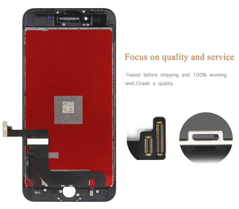 finest selection 8f9ce 41f95 5PC Original OEM quality For iphone 8 plus LCD with Touch Screen Display  Assembly Replacement 100% work free shipping
