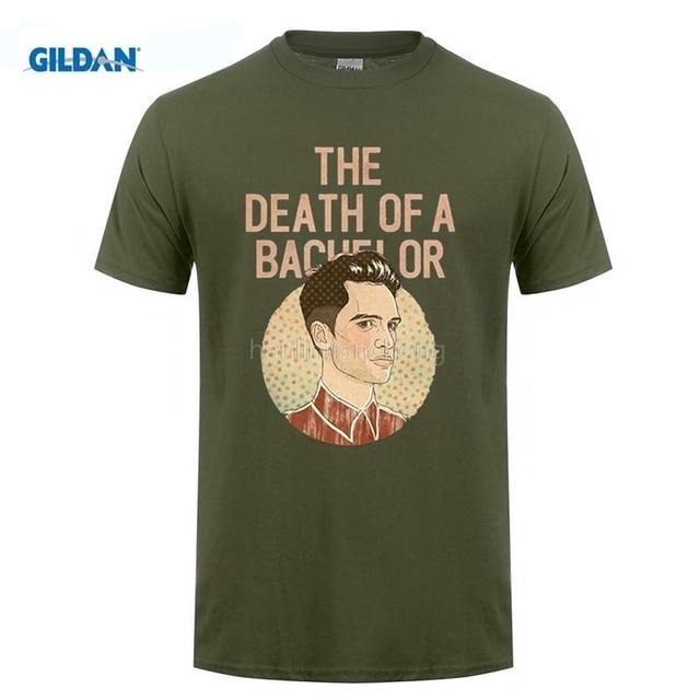 88b37587 GILDAN 100% Cotton O-Neck customised T-shirt Death Of A Bachelor Panic At  The Disco Crew Neck Premium Short-Sleeve Top Tees