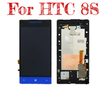 Suitable for HTC 8s A620E A620D A620T mobile touch LCD new  display screen assembly with box