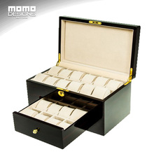 Watch field wooden LUXURY picket watch storage field Watch show field packaging Large capability watch showcase