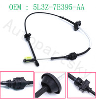 [ from USA to USA ] 5L3Z 7E395 AA New Good Automatic TRANSMISSION SHIFT CABLE 5L3Z 7E395 AA 5L3Z7E395AA FOR FORD F150 2005 2008