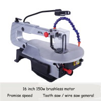 Electric Curve Saw Desktop Wire Saws DIY Carved Machine Wire Cutting Machine Woodworking Tools With English Manual S016