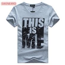 2018 new brand clothing men t shirt swag t shirt men cotton printing Men t shirt