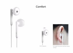 Image 3 - Huawei Honor AM115 écouteurs, Original avec micro pour Xiaomi Huawei, boîte de détail universelle pour téléphone, livraison gratuite de haute qualité pour les basses