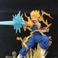 New Dragon Ball Z Super Saiyan Vegetto Battle Son Goku Gokou MIX Vegeta Figuart Zero 19cm Action Figure Toriyama Akira Comic