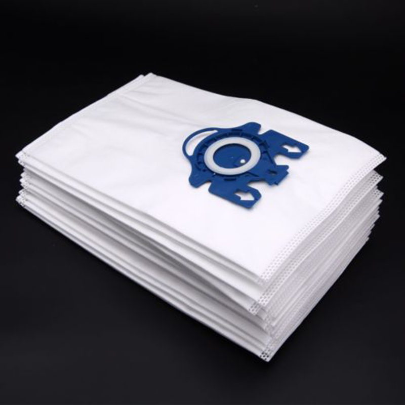 12 Pcs Washable Universal Vacuum Cleaner Cloth Dust Bags For Miele 3D GN COMPLETE C2 C3 S2 S5 S8 S5210 S5211 Home Supplies