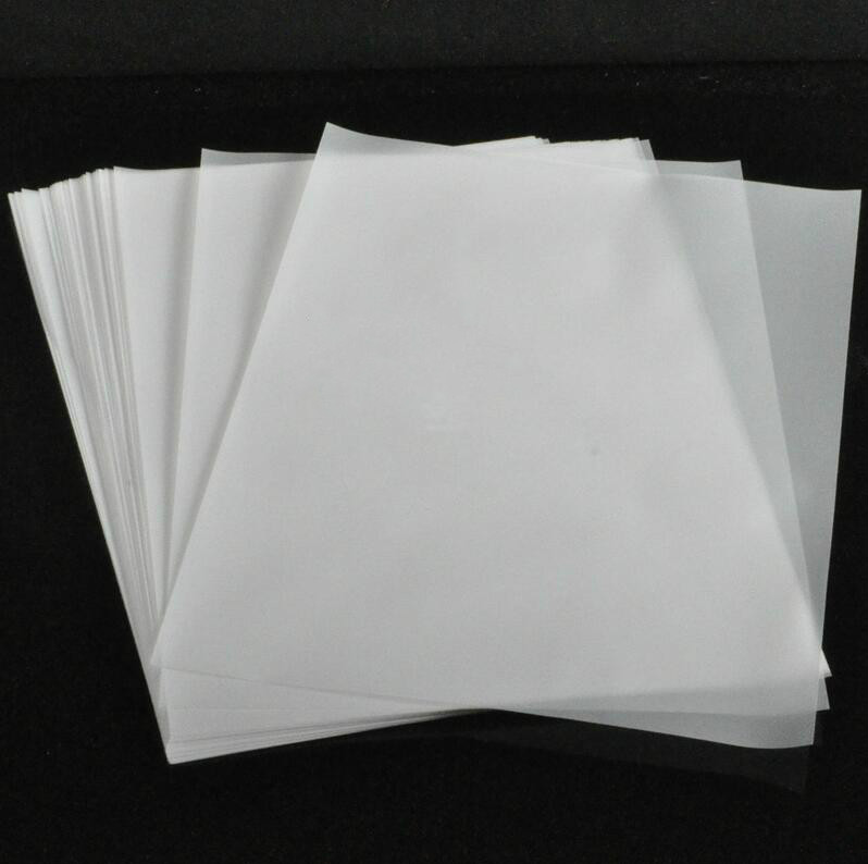 500pcs/lot 73g A4 High Quality Sulfuric Acid Paper Tracing Paper Calligraphy Copy Paper School Artwork DIY Office Supplies