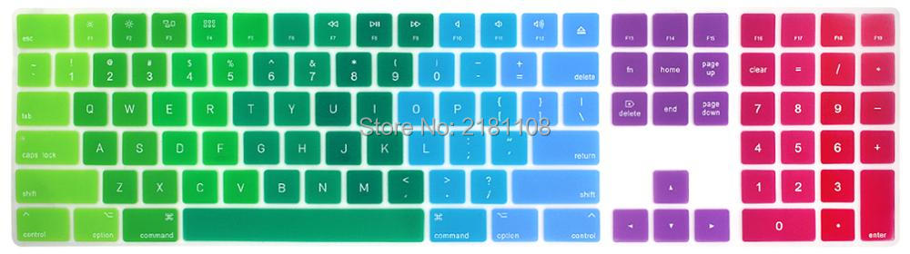 2017 Magic Keyboard With Numeric Keypad Mq052ll A A1843 Silicone Skin Keyboard Cover For Apple Magic Keyboard Buy At The Price Of 3 79 In Aliexpress Com Imall Com