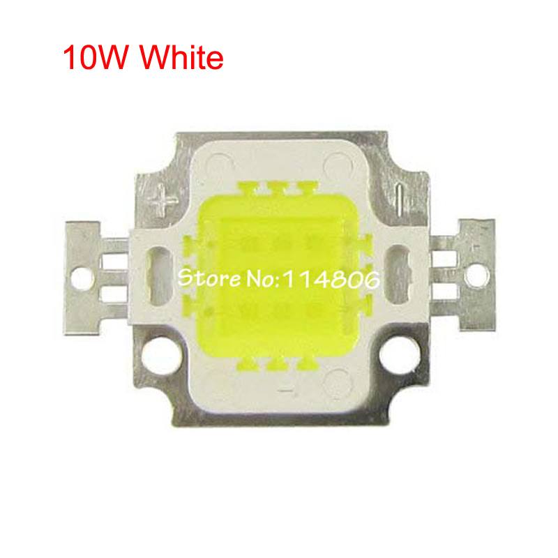1pcs High Power 10W White 4500K/Warm White 3000K/Pure White 6500K/Cool White 10000-<font><b>30000K</b></font> SMD <font><b>LED</b></font> Light Lamp Part Chip image