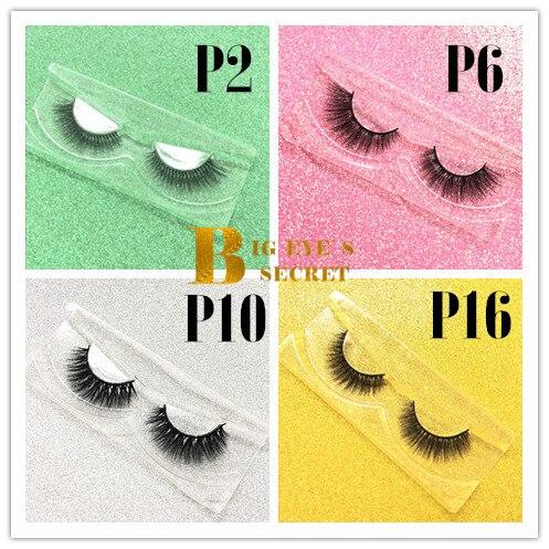 Big eye's secret 3D faux cils de vison 20 paires à la main coréen naturel épais complet professionnel de luxe livraison gratuite